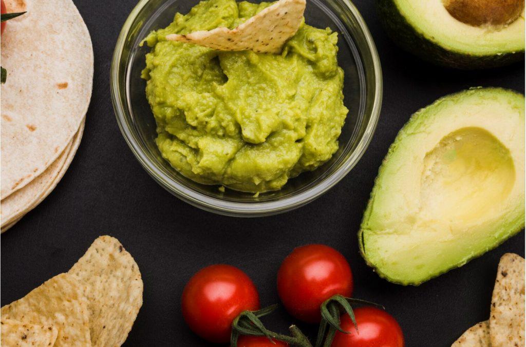 receta salsa de guacamole