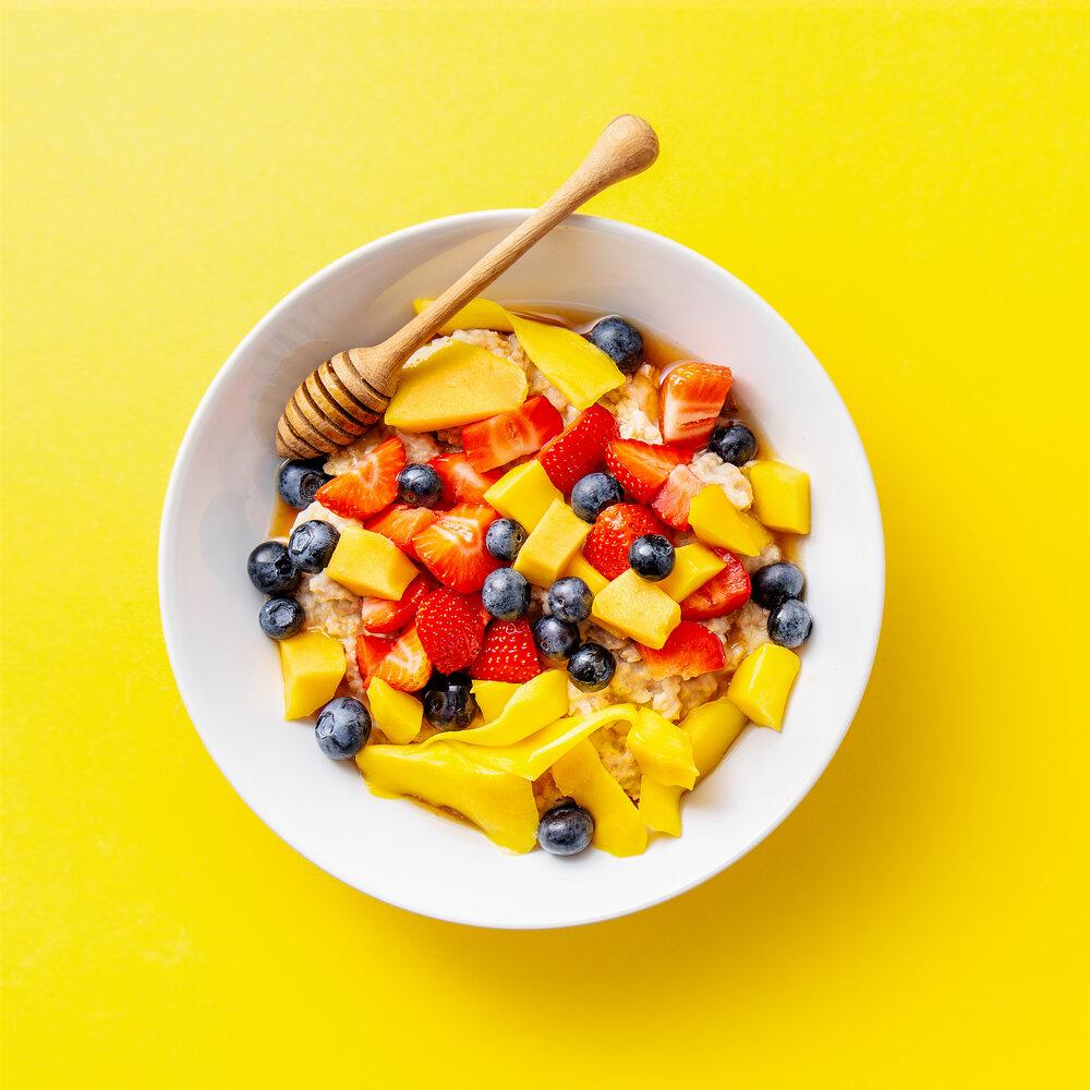 fondo categoría recetas con mango