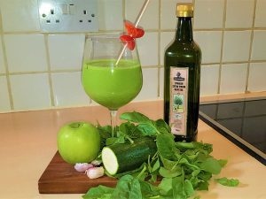 Grüner Gazpacho
